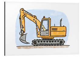 Hugos Illustrations - Hugos digger