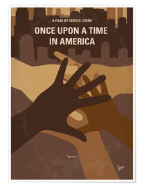 Premium poster No942 My Once Upon a Time in America minimal movie poster