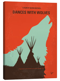 Canvas print  Dances with Wolves - chungkong