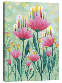 Canvas  Magic Flower - Aurelie Blanz