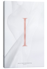 Canvas print  ROSEGOLD LETTER COLLECTION I - Stephanie Wünsche