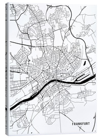 Main Street Maps - Frankfurt Germany Map