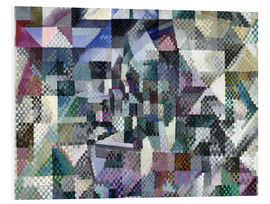 Foam board print  Window on the City No. 3 - Robert Delaunay