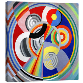 Canvas print  Ritmo No.1 - Robert Delaunay