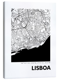 44spaces - City map of Lisbon