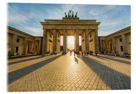 Acrylic glass  Brandenburg Gate and Pariser Platz - Westend61