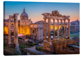 Canvas print  The Roman Forum - age fotostock