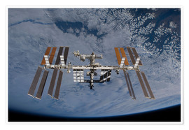 Premium poster International Space Station