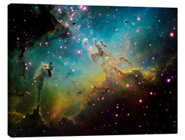 Canvas print  The Eagle Nebula - Ken Crawford