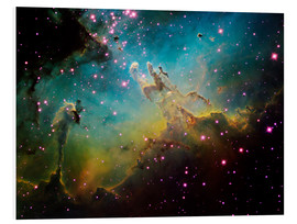 Foam board print  The Eagle Nebula - Ken Crawford