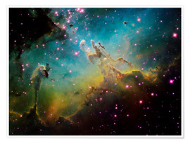 Premium poster  The Eagle Nebula - Ken Crawford