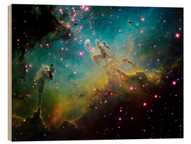 Wood print  The Eagle Nebula - Ken Crawford