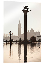 Acrylic print  San Marco with the San Giorgio Church - Cubo Images