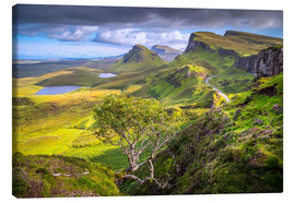 Canvas print  Quiraing, Isle of Skye, Scotland - age fotostock