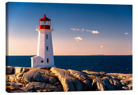 Canvas print  Peggy's Point Lighthouse - age fotostock