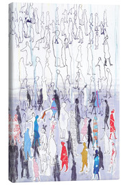 Abstract crowd