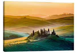 Canvas print  Val d'Orcia, Tuscany, Italy - age fotostock