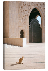 Canvas  Hassan II mosque - Nora Frei