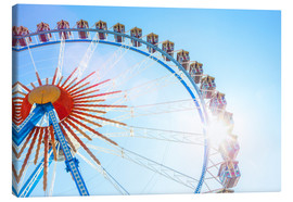 Canvas print  Ferris wheel at the Oktoberfest - Westend61