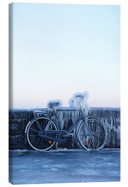 Canvas  Frosty bike - Cultura/Seb Oliver