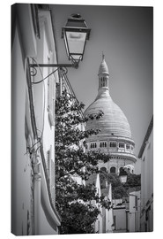 Canvas  PARIS Montmartre and Basilika Sacré Cœur - Melanie Viola