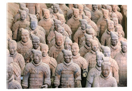 Acrylic print  Warrior of the Terracotta Army - Stuart Westmorland