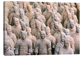 Canvas print  Warrior of the Terracotta Army - Stuart Westmorland