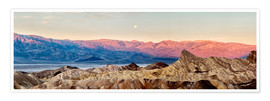 Premium poster  Moon over Death Valley National Park - Ann Collins