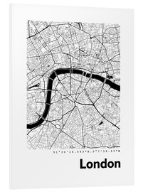 Forex  City map of London - 44spaces