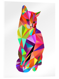 Acrylic glass  Karl Kater - Miss Coopers Lounge