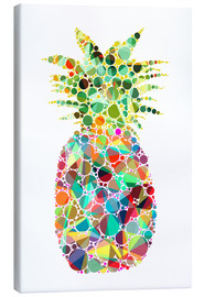 Canvas print  Pineapple - Miss Coopers Lounge