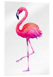 Acrylic print  Flamingo 1 - Miss Coopers Lounge