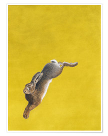 Poster  The Leap-Yellow - Tim Hayward