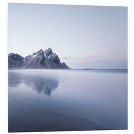 Foam board print  Vestrahorn in Iceland at sunset - Philipp Dase