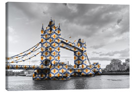 Canvas  Tower Bridge Colour Pop