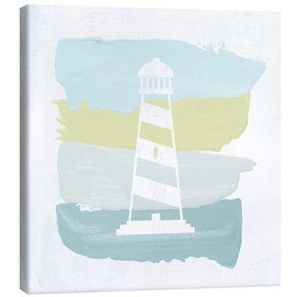 Canvas print  Seaside Swatch Lighthouse - Moira Hershey