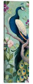 Canvas print  Pretty Peacock I - Julia Purinton
