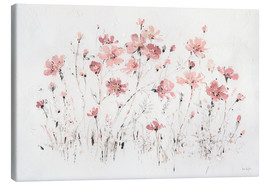 Canvas print  Wildflowers in pink - Lisa Audit