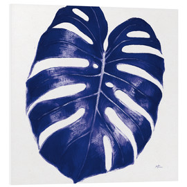 Foam board print  Welcome to Paradise XIII Indigo - Janelle Penner