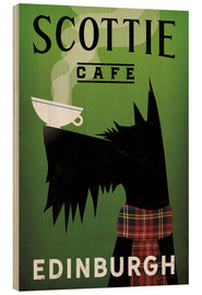 Wood print  Scottie Cafe - Ryan Fowler
