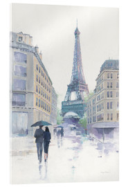 Acrylic print  Walking in the Rain - Avery Tillmon