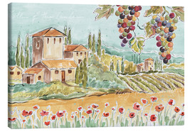 Canvas  Tuscan Breeze I - Daphne Brissonnet