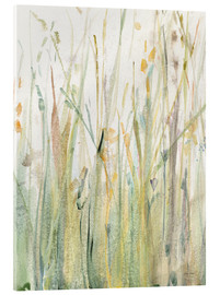 Acrylic glass  Spring Grasses I - Avery Tillmon