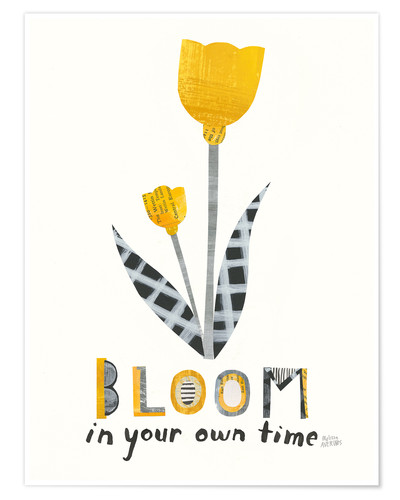 Premium poster Bloom IV