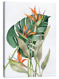 Canvas print  Botanical: Birds of paradise - Kathleen Parr McKenna