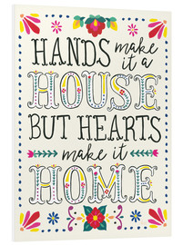 Foam board print  Our home - Laura Marshall