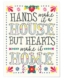Poster  Our home - Laura Marshall