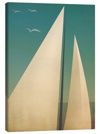 Canvas print  Sails I - Ryan Fowler