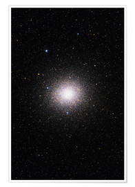 Premium poster Omega Centauri group in the Milky Way