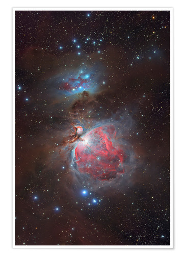 Premium poster Messier 42, The Great Nebula in Orion